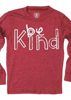 Wes and Willy Be Kind Bullseye Red Tee
