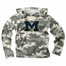 Wes and Willy Michigan CAMO Hoodie