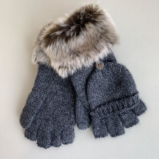Appaman Heather Grey Timid Conv. Mitten