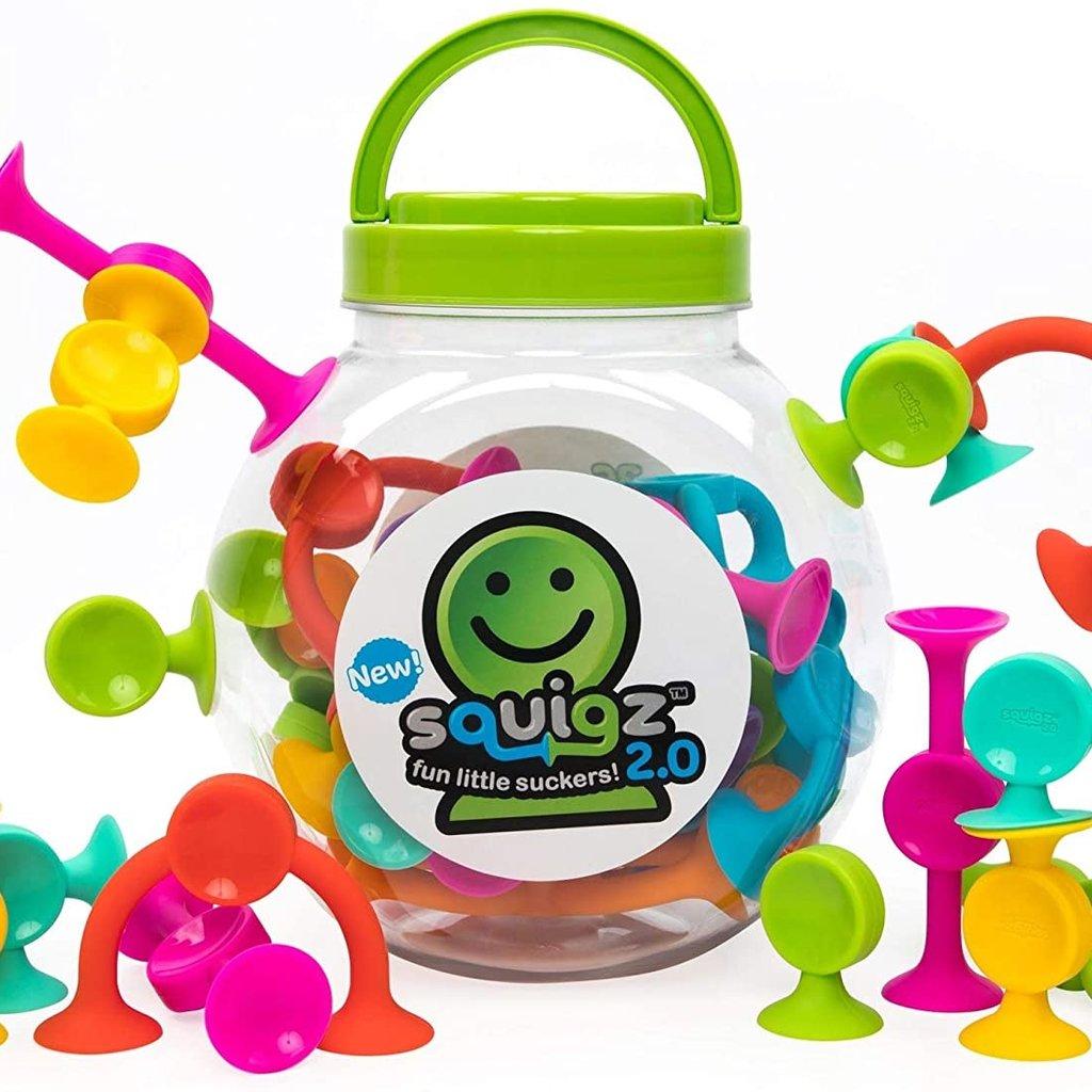 Fat Brain Toy Co Squigz 2.0 36 pc set