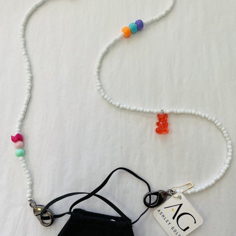Ashley Gold Gummy Bear Children's Mask Chain