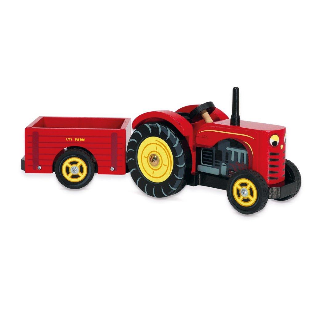 Le Toy Van Bertie's Tractor with Farmer