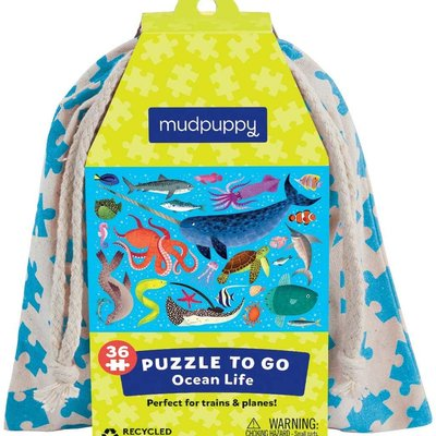Chronicle Books/Hachette Book Group USA Ocean Life Puzzle To Go