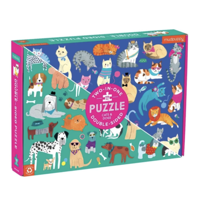 Chronicle Books/Hachette Book Group USA Double Sided Puzzle
