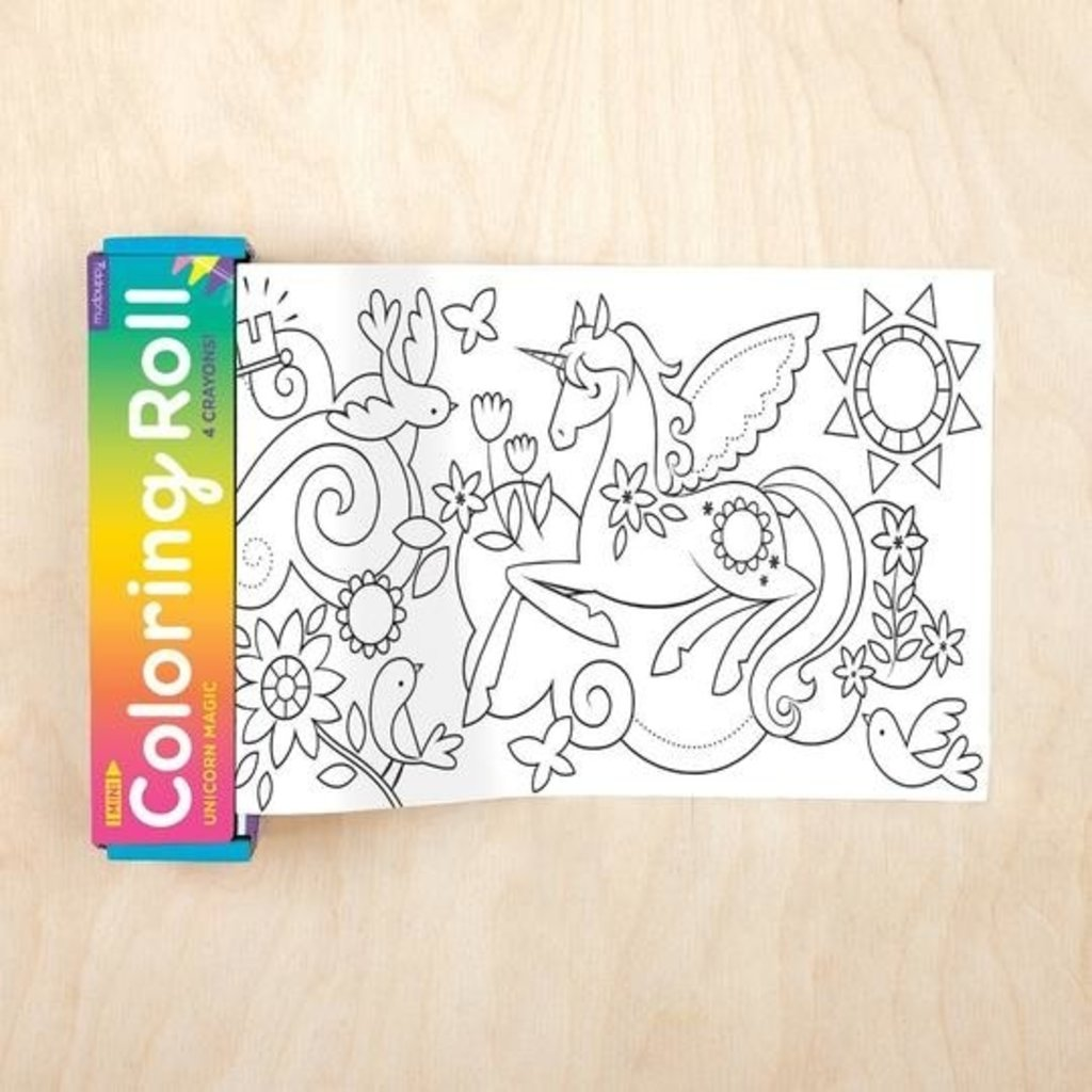 Chronicle Books/Hachette Book Group USA Mini Coloring Roll