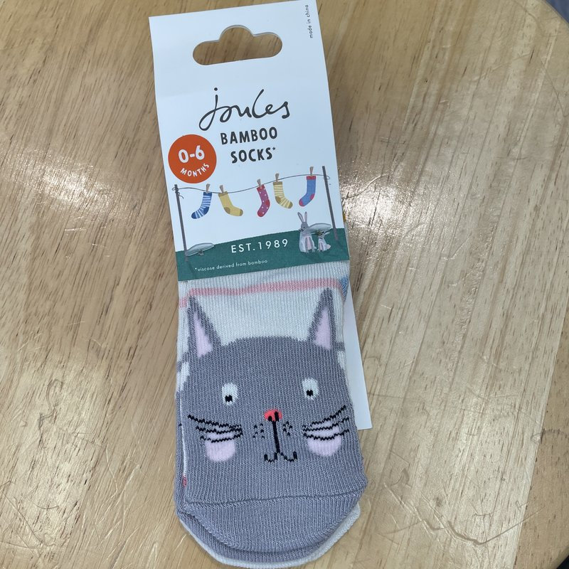 Joules Cat Rainbow Socks