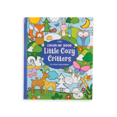 OOLY Colorin' Book : Little Cozy Critters