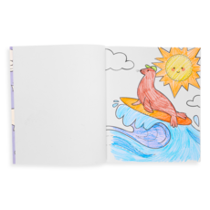 OOLY Colorin' Book : Outrageous Ocean