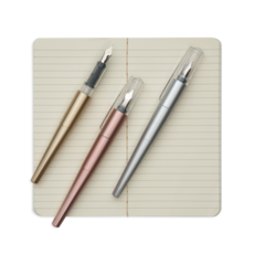 OOLY Modern Script Fountain Pen and Journal