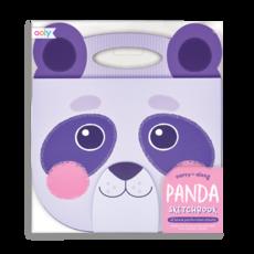 OOLY Animal Carry Along Sketchbook: Panda