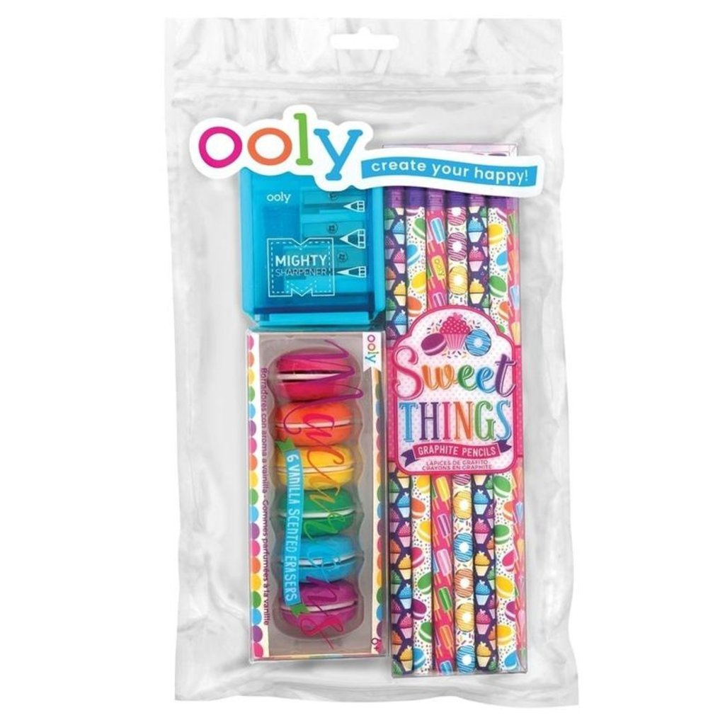 OOLY Sweet Things Happy Pack