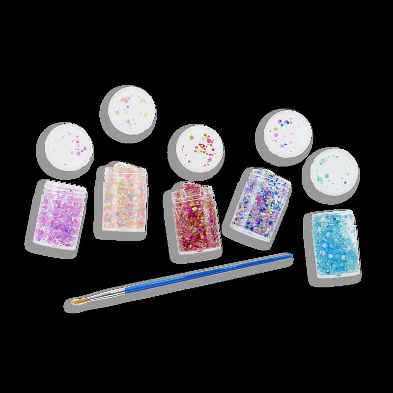 OOLY Mini Dot Pixie Paster Glitter Glue