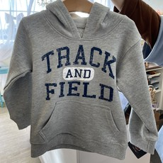 Wes and Willy Track and Field Hoodie