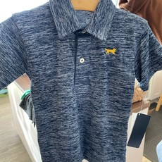 Wes and Willy Cloudy Midnight SS Polo