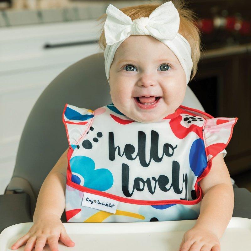 Tiny Twinkle Inc Girl Easy Bib 3 pack