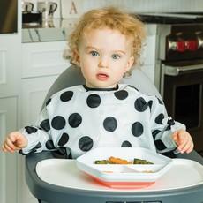 Tiny Twinkle Inc Polka Dot Full Sleeve Bib