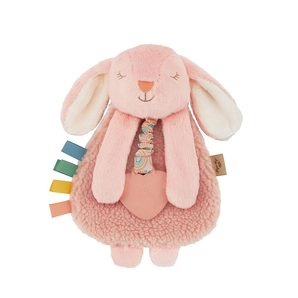 Itzy Ritzy Bunny Plush with Silicone Teether
