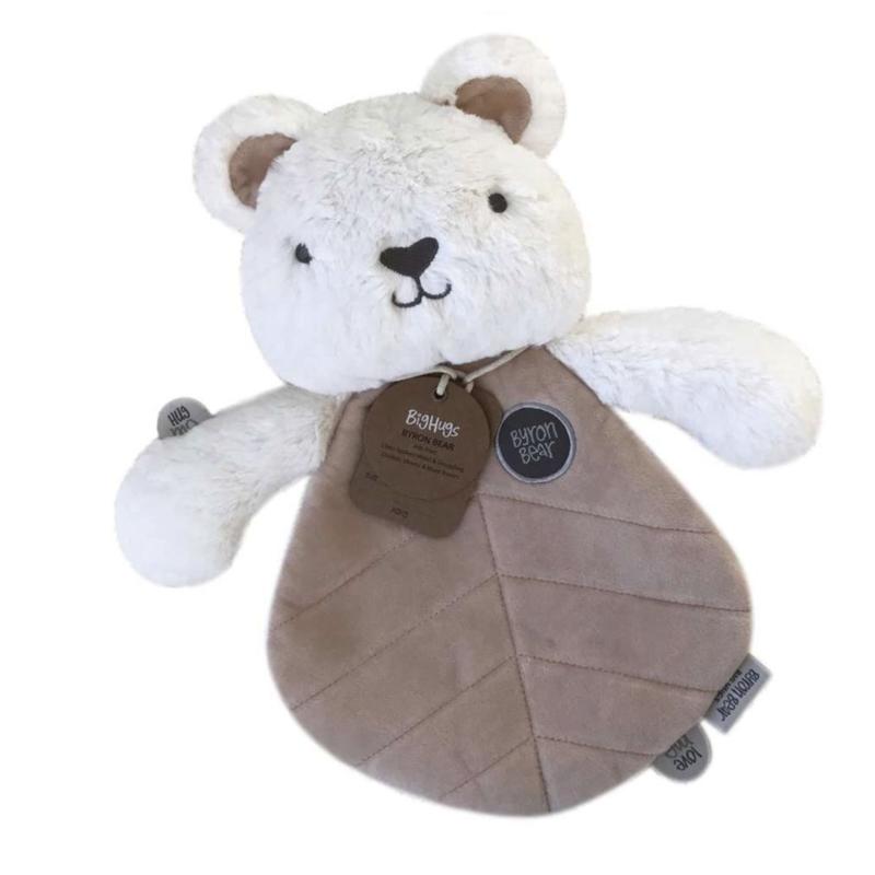 OB Designs USA LLC Byron Bear Baby Lovey Toy