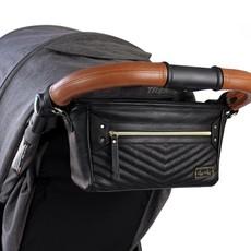 Itzy Ritzy Jetsetter Black Travel Stroller Caddy