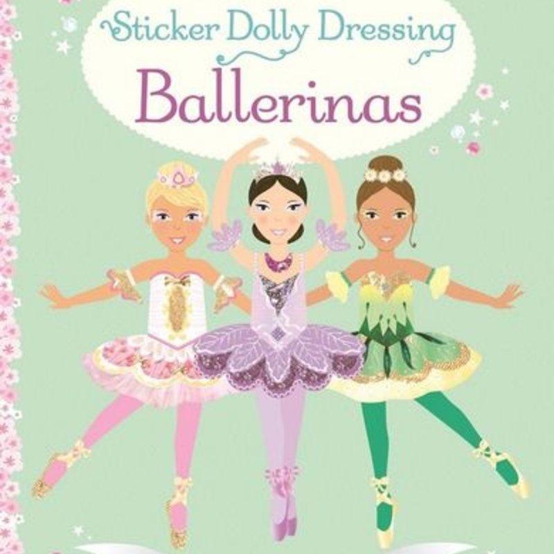 Usborne Books Sticker Dolly Dressing Ballerinas