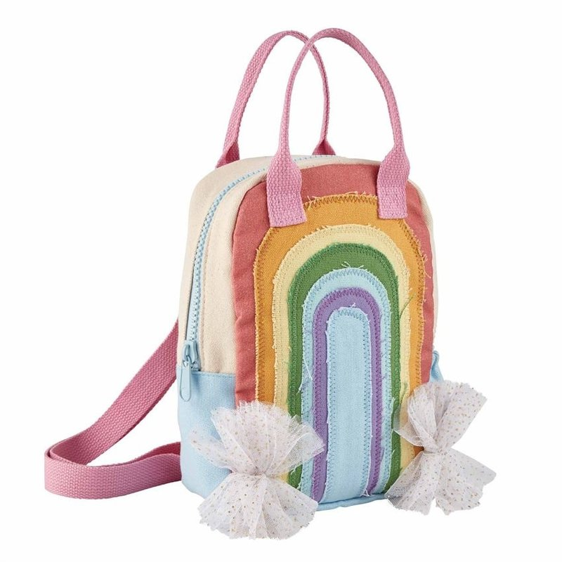 Mud Pie Rainbow Backpack