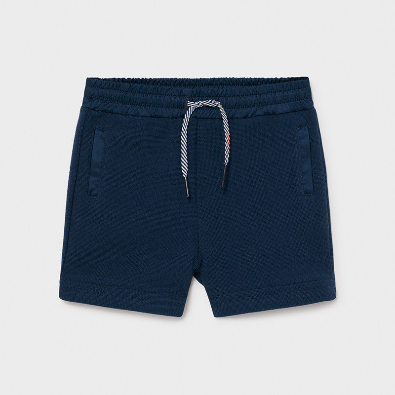 Mayoral USA Blue with orange accent shorts