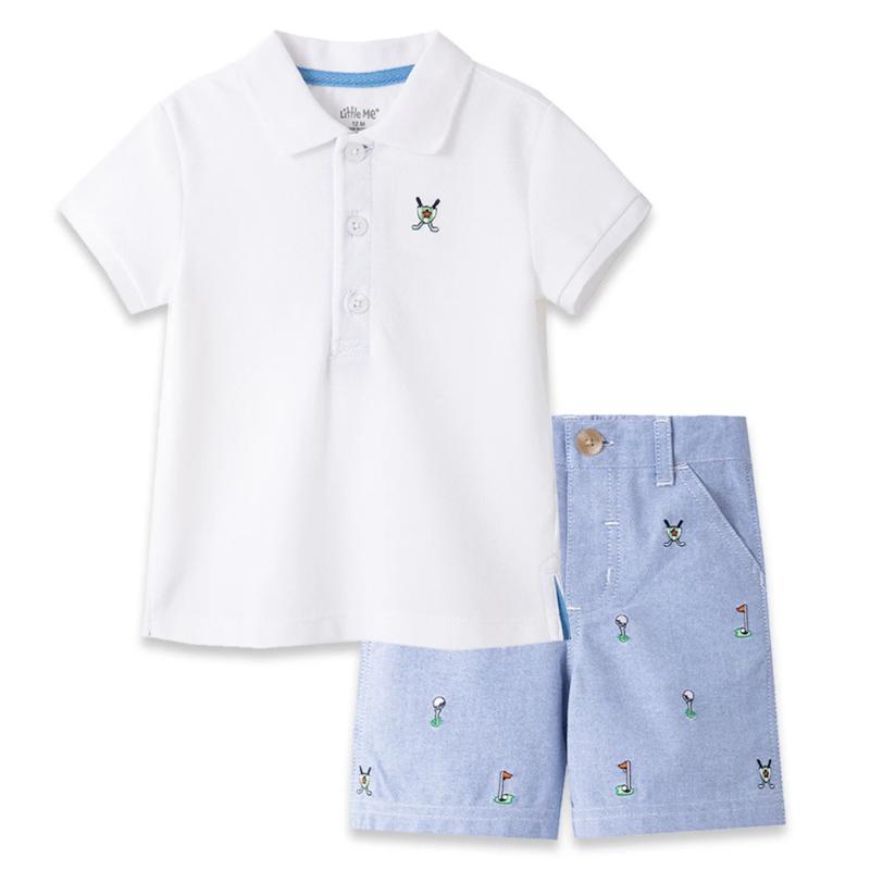 Little Me Golf Polo Golf Set