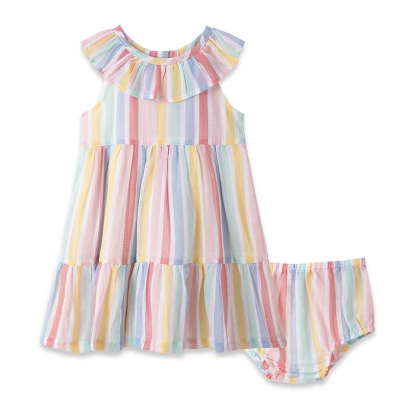 Little Me Multi Stripe Sundress