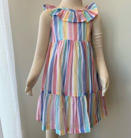 Little Me Multi Stripe Sundress
