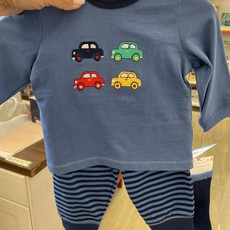 Little Me Car Jogger Set with Socks