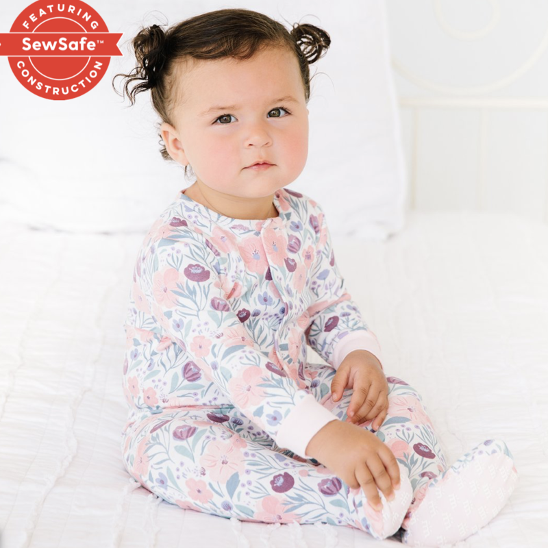 Magnificent Baby Mayfair Organic Cotton Footie