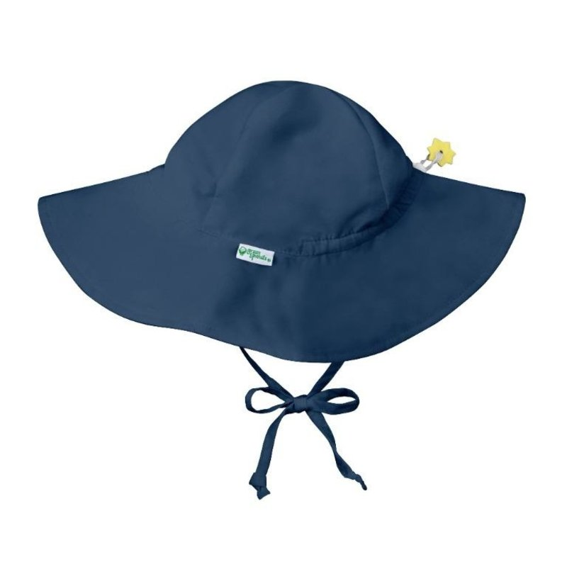 Green Sprouts Navy Brim Sun Hat