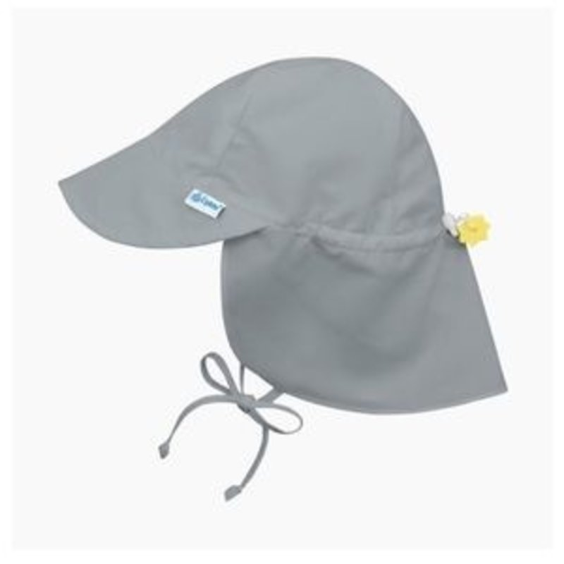 Green Sprouts Gray Sun Flap Hat