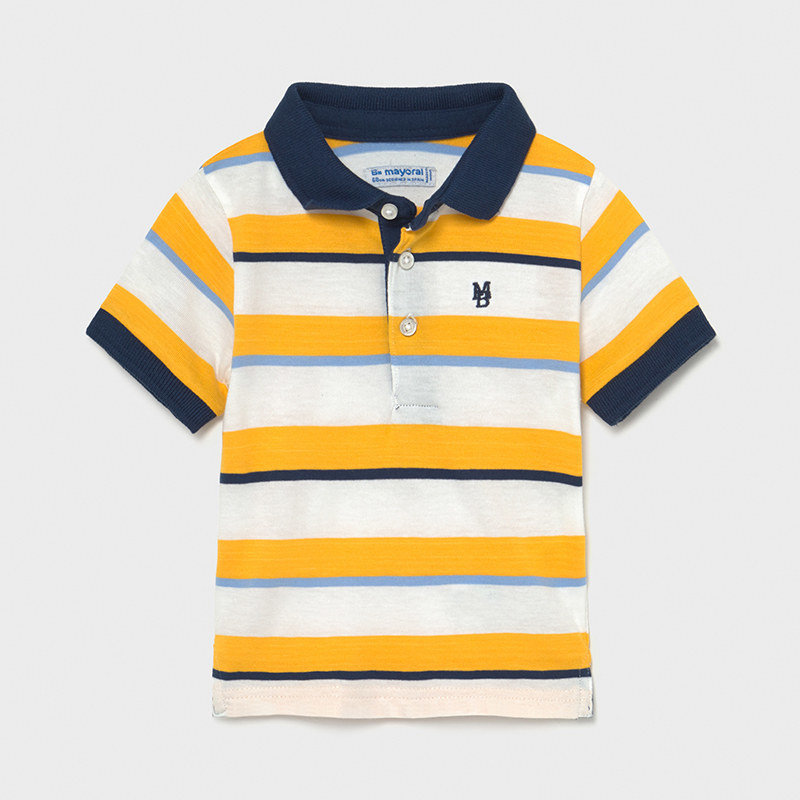Mayoral USA Gold Navy Polo