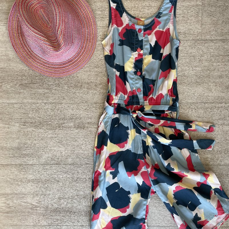 Up Baby by Shop Couture Bold Heart Print Romper