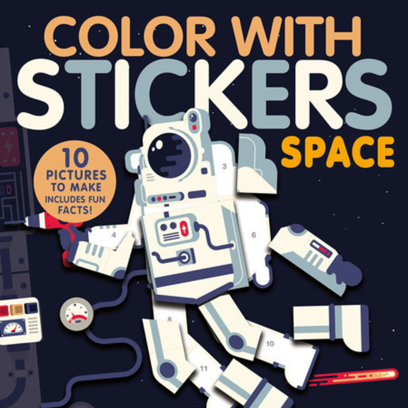 Penguin Random House, LLC Color with Stickers Space