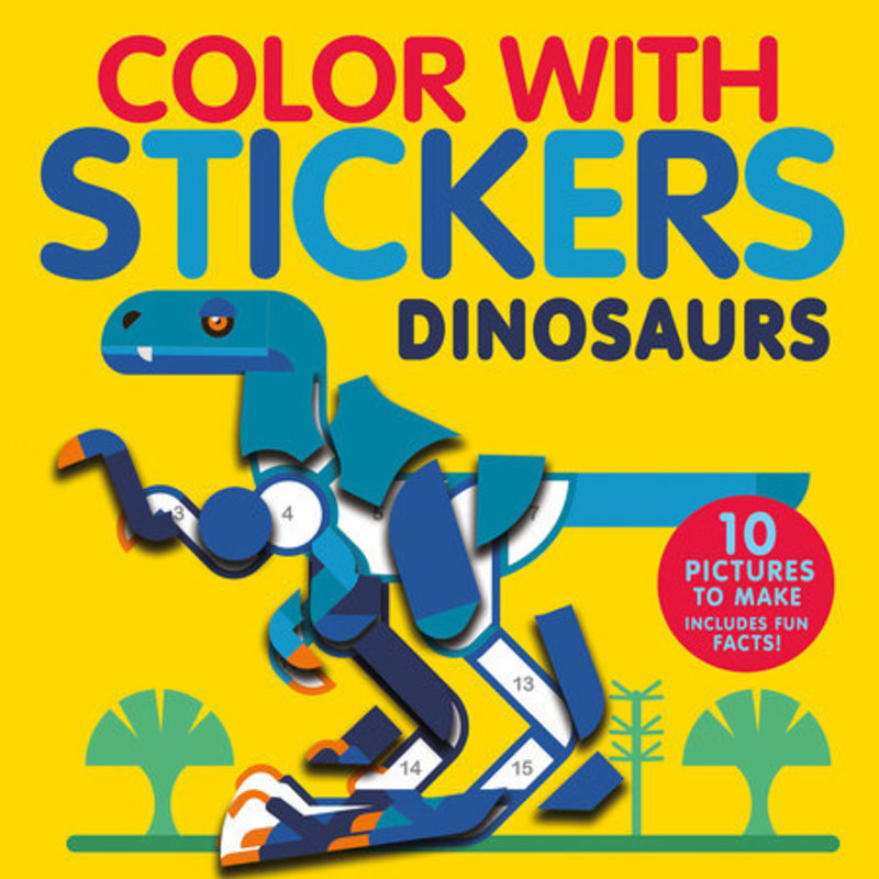 Penguin Random House, LLC Color with Stickers Dinosaurs