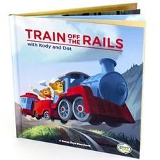 Green Toys Train off the Rail Book