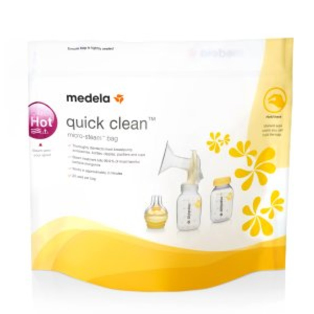 Medela, Inc. Quick Clean Micro Steam Bags