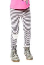 Deux Par Deux Cuddles & Hugs Striped Leggings