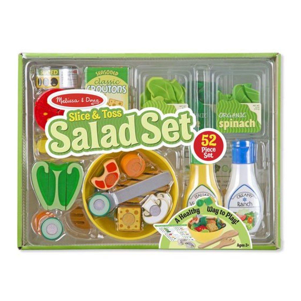 Melissa & Doug, LLC Slice & Toss Salad Set