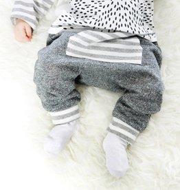 Deux Par Deux Soft Grey Harem Pant