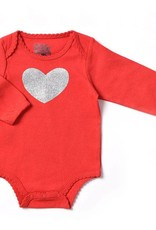 Kapital K Glittered Heart Bodysuit