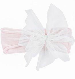 Mimi & Maggie Pink Bunny Bow Headband