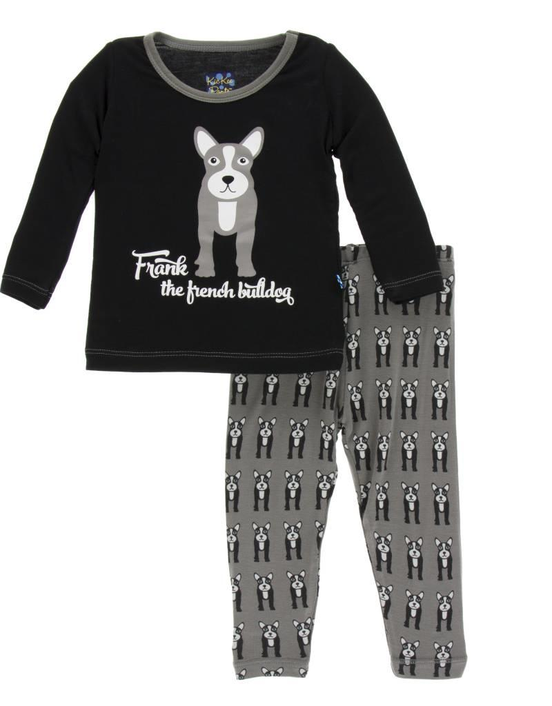 Kickee Pants French Bulldog Pajamas