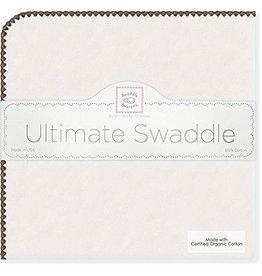 Swaddle Designs Ultimate Nat/Brown Swaddler ORGANIC