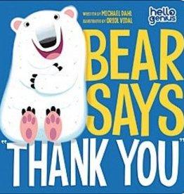 """Capstone Publishers Bear Says, """"Thank You"""""""