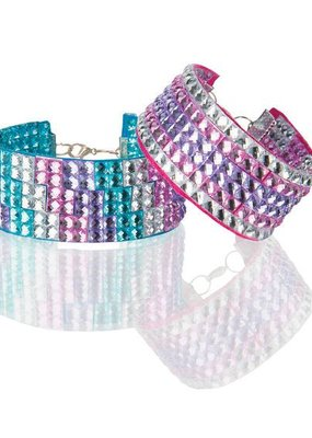 Melissa & Doug, LLC Press-On Rhinestones Bracelet Set