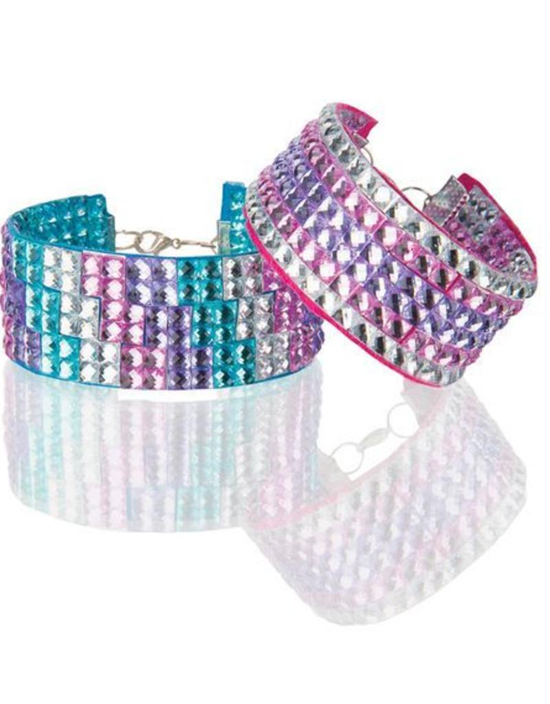 Melissa & Doug, LLC Press-On Rhinestones Bracelet Set