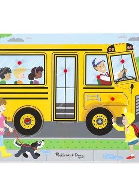 Melissa & Doug, LLC The Wheels on the Bus Sound Puzzle